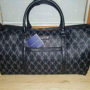 Adrienne Vittadini Signature Duffle Bag Carry on